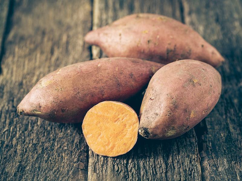 Rezept: Süßkartoffel-Flammkuchen