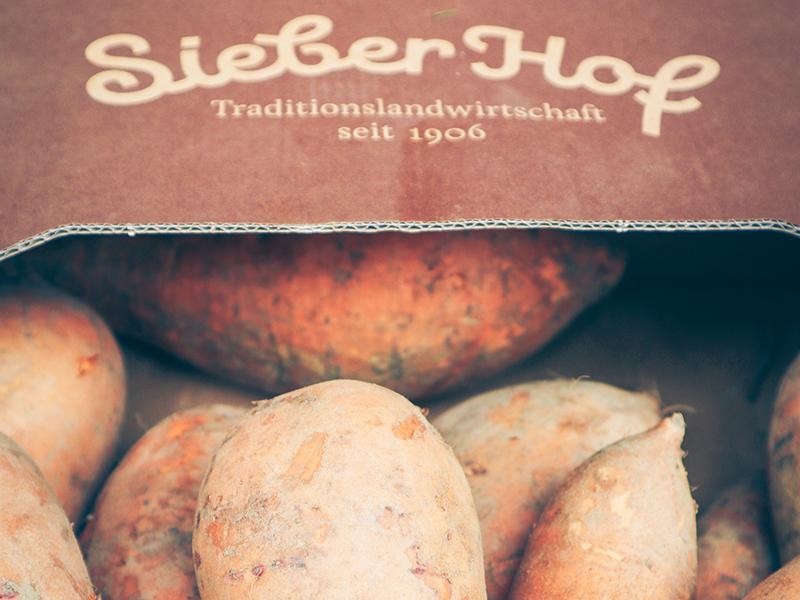 Süßkartoffeln regional