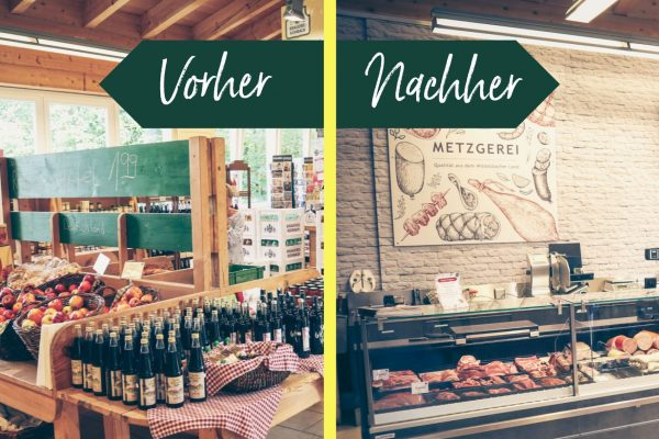 Bauernmarkt Dasing Umbau