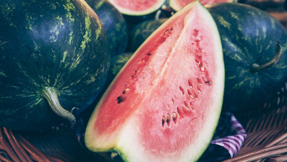 Bauernmarkt Dasing Wassermelonen