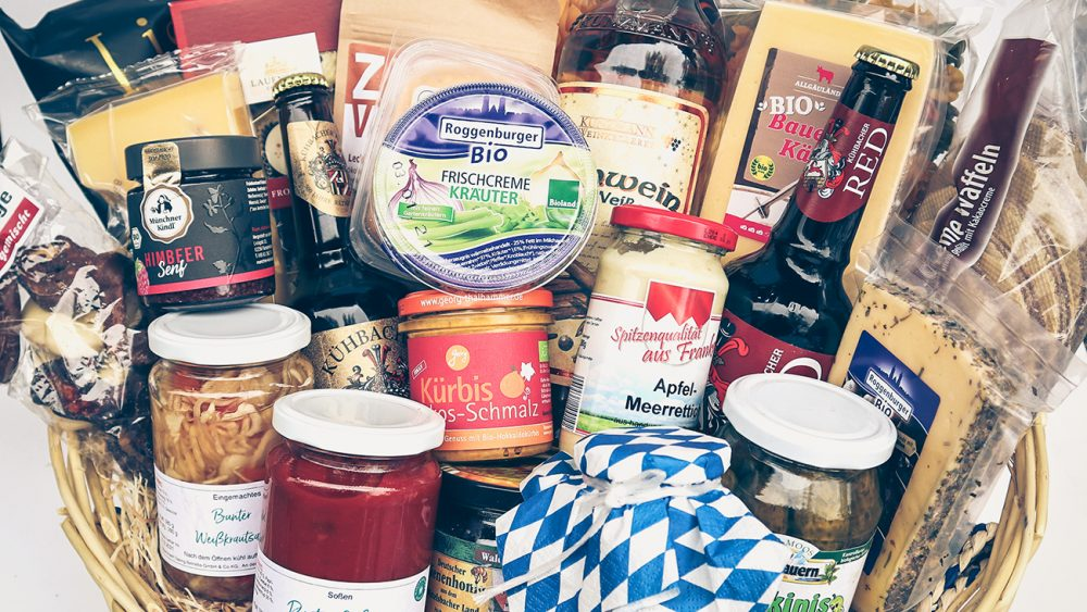 Bauernmarkt Dasing Weihnachtskorb