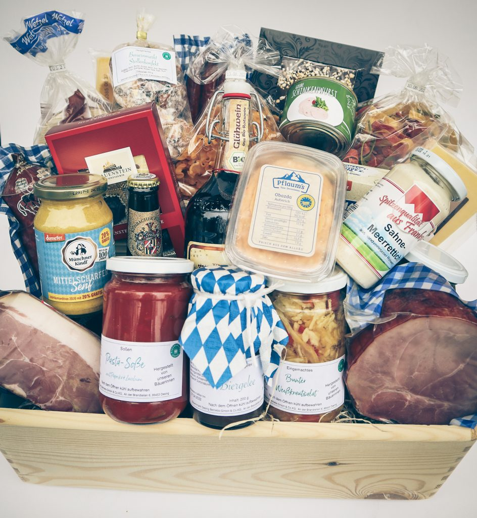 Bauernmarkt Dasing Geschenkkrob