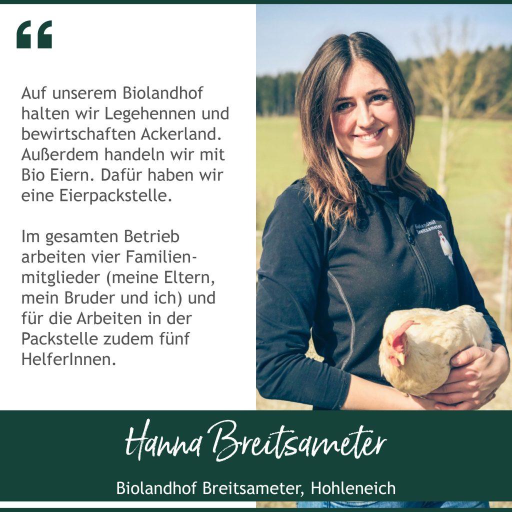 Hanna Breitsameter Bauernmarkt Dasing