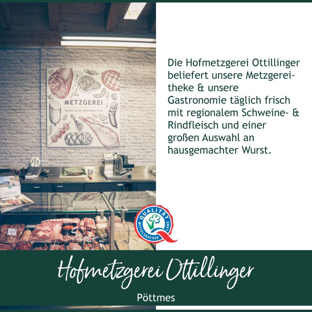 Bauernmarkt Dsaing Hofmetzgerei Ottillinger