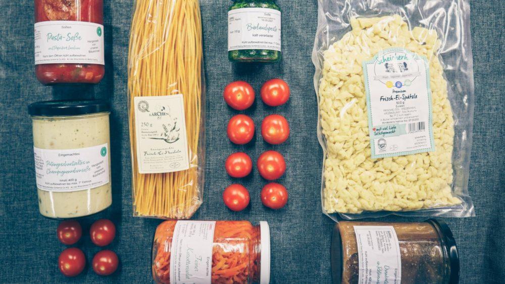Bauernmarkt Gerichtekiste